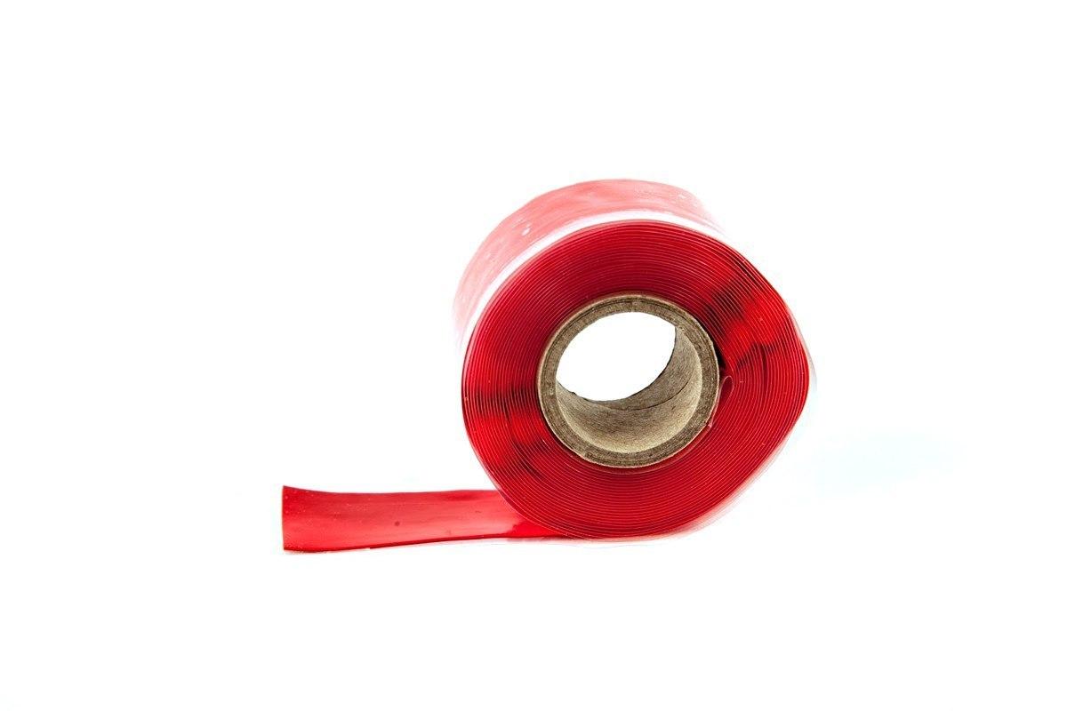 Samouszczelniająca taśma TurboWorks 25mm x 0.5mm 3.5m Red - GRUBYGARAGE - Sklep Tuningowy